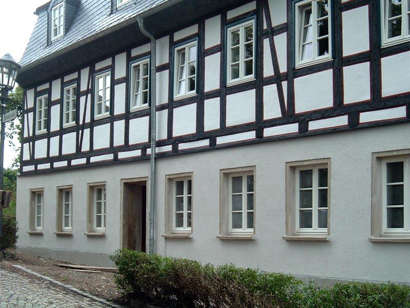 bauservice morgenstern referenz sanierung fachwerkhaus augustusburg. Black Bedroom Furniture Sets. Home Design Ideas