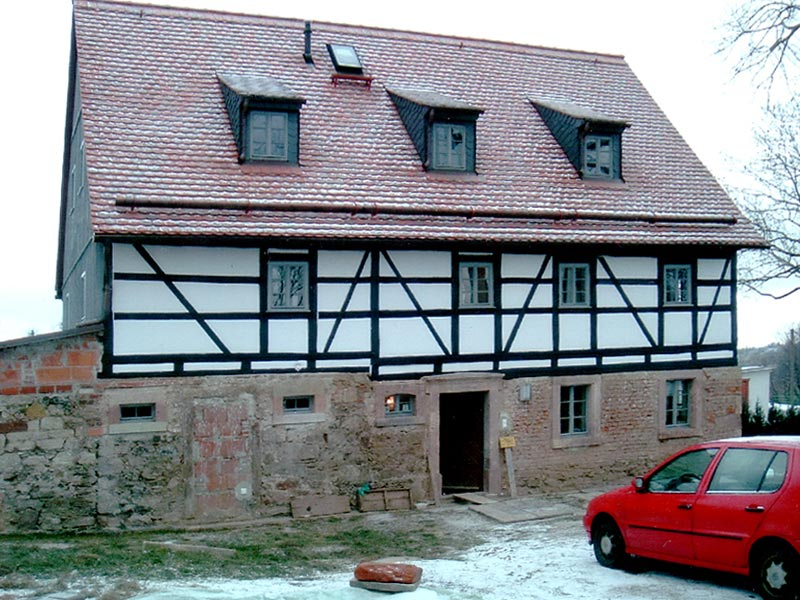 bauservice morgenstern referenz sanierung fachwerkhaus chemnitz heinersdorf. Black Bedroom Furniture Sets. Home Design Ideas